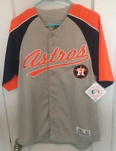 23de02394 Houston Astros MLB Jersey Sewn Men M Vtg Dynasty Baseball Rare ...