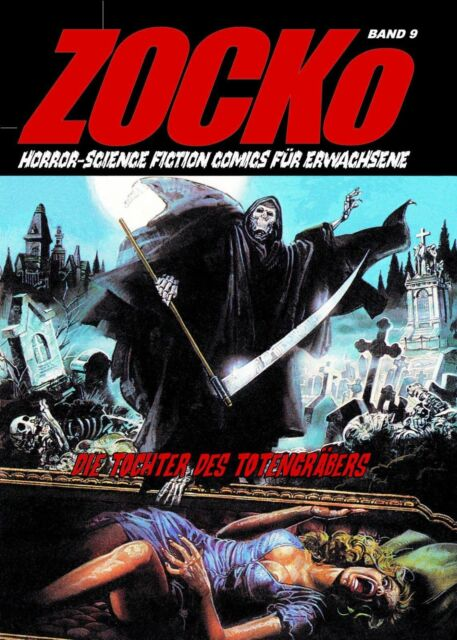ZOCKo 9 Die Tochter des Totengräbers HORROR EROTIK COMIC Science Fiction Zacko