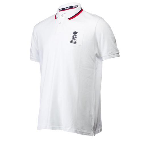 England Cricket ECB Men/'s 2 Tone Official Polo