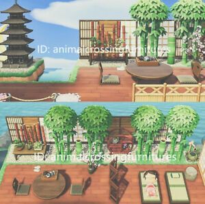 Japanese-Style-Seaside-Spa-Outdoor-Furniture-Set-32-PCs-New-Horizons