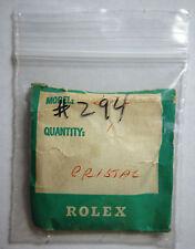 Genuine Rolex 294 Tropic Plastic Plexi Acrylic Watch Crystal 25-294