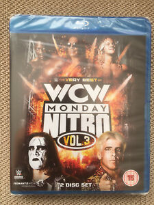 WWE-WCW-Blu-Ray-NEW-amp-SEALED-The-Best-of-Monday-Nitro-Volume-Three-2-Disk-set