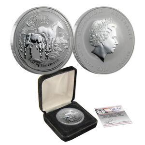 2014-1-oz-Australian-Silver-Year-of-the-Horse-Perth-Mint-Uncirculated-BU