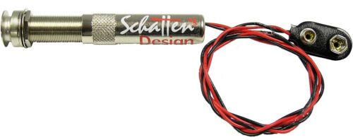 """NEW! Schatten Player Single Channel 1//4/"""" Endpin Jack Guitar//Instrument Preamp"""