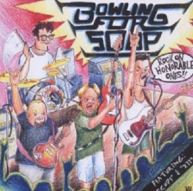 """BOWLING FOR SOUP """"ROCK ON HONORABLE ONES"""" CD NEUWARE!"""