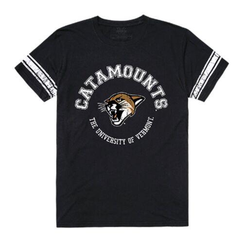 University of Vermont Catamounts NCAA Cotton College Football T-Shirt S-2XL