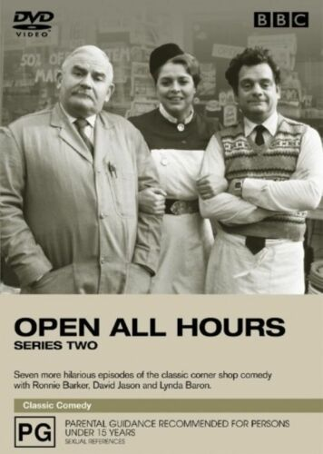 1 of 1 - Open All Hours: Series 2 (DVD) Ronnie Barker - Region 4 - Good Condition