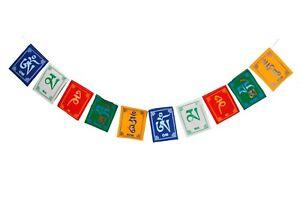 Tibetan Prayer Flags Om Mani Padme Hum - High Quality - Buy 2 get 1 free