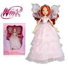 Winx Club Butterflix Dolls Fairy Bloom With Magic Robe Figure Gift