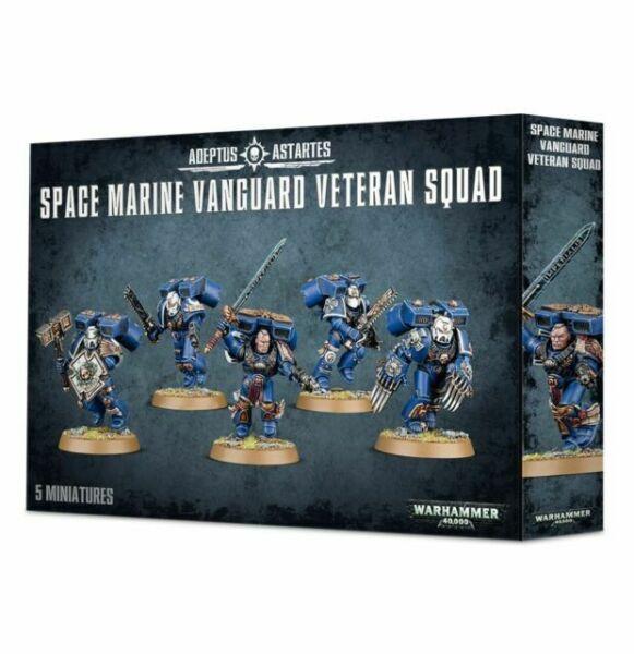 rechts C Space Marine Vanguard Veteran Squad Energieklaue mit Arm *BITS*
