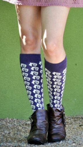 Plum Ann Sweet Marcel Women/'s Knee High Socks Old World Style Novelty Fashion