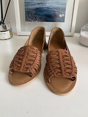 Asos Woven Leather Sandal 4 | eBay