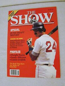 The-Show-June-1990-Premiere-Issue-Special-June-Draft-Report-Magazine-Collectible
