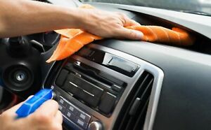 Car cleaning-checklist posting a used car ad