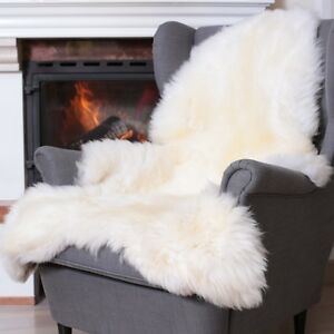 lammfell natur farben kuscheliges merino fell ungef rbt dekoration l ufe wei ebay. Black Bedroom Furniture Sets. Home Design Ideas