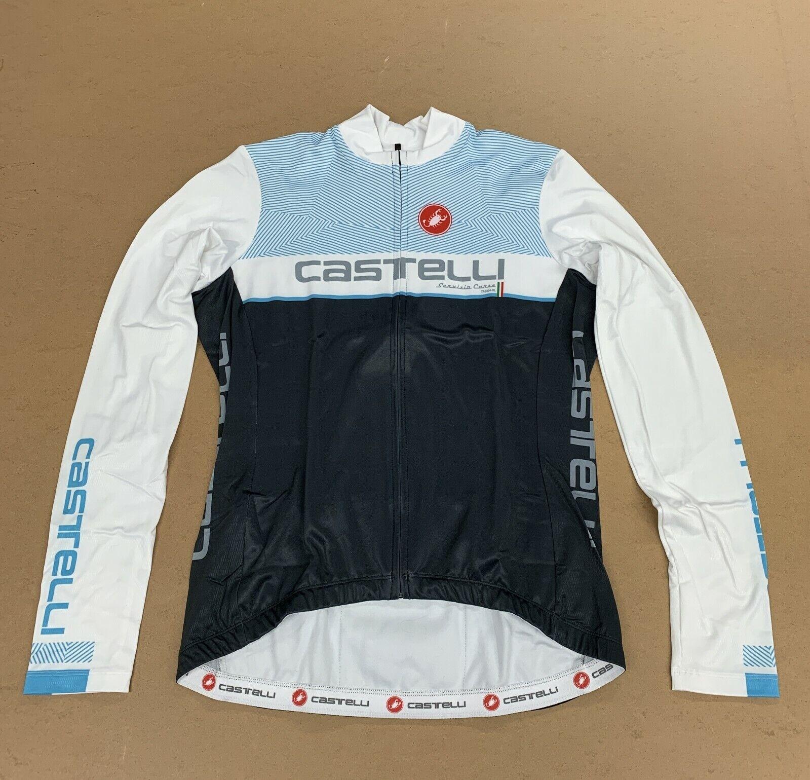 Castelli Women's Team Long Sleeve Jersey XL New
