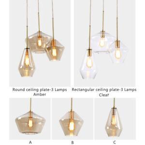 Details About Kitchen Island Pendant Light Bar Ceiling Lights Gl Chandelier Lighting