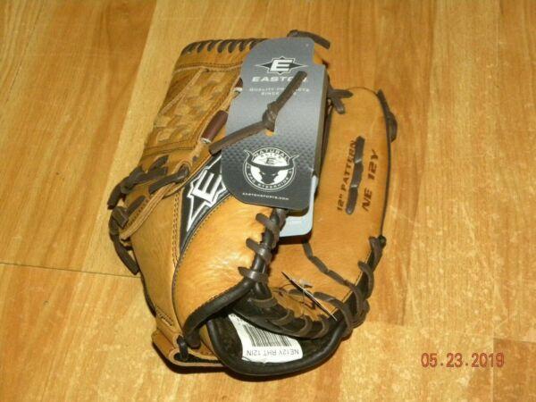 Baseball & Softball Gloves & Mitts Gloves New EASTON 12 Softball Baseball Glove Pro Steerhide NE 12Y Natural Elite RHT