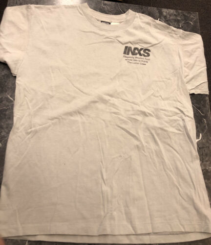 Vintage T Shirt -  INXS Elegantly Wasted Tour Loca