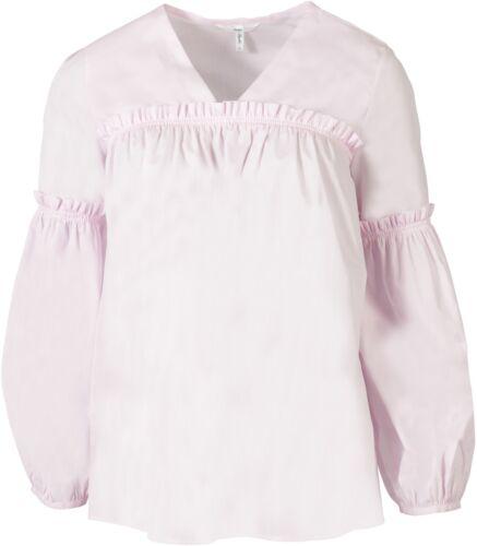 Sophie 40 Pink It Blouse Nouveau 69153 D coton Gr Ruffle Papy 100 46 Tdnqax