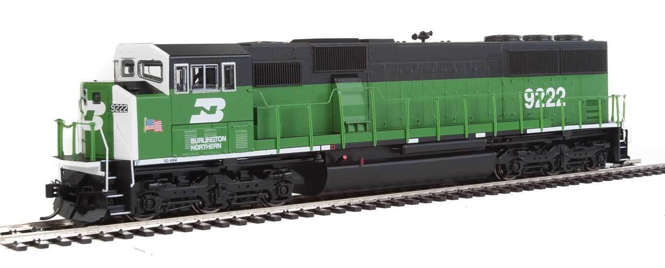 Escala H0 - Locomotora Diésel EMD SD60M Burlington Northern - 10301 Neu