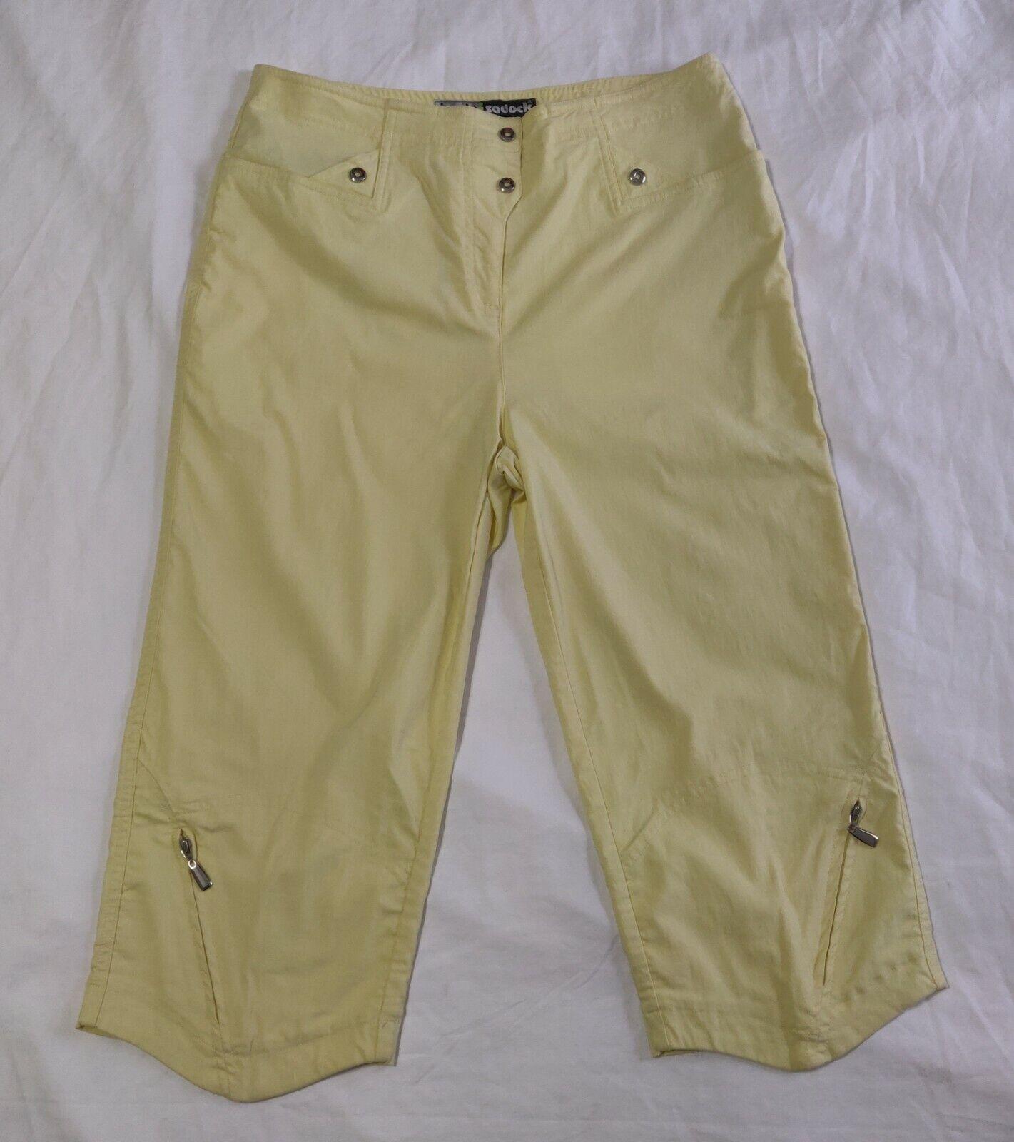 Jamie Sadock Capri Pants Women's 8 (Measured 30.5