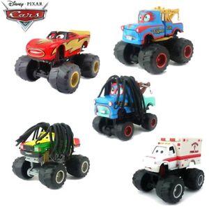 Mattel Disney Movie Cars Lot Monster Ambulance Frightening Mcqueen Truck Kid Toy