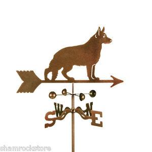 Dog-German-Shepherd-Weathervane-Weather-Vane-Complete-w-Choice-of-Mount