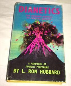 Dianetics-L-Ron-Hubbard-1968-UK-Ed-Scientology-Organisation-London-Ephemera