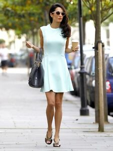 67b3bbfb108ea5 TED BAKER NISTEE RARE CELEBRITY MINT SKATER STYLE DRESS SIZE 4 UK (14) NEW