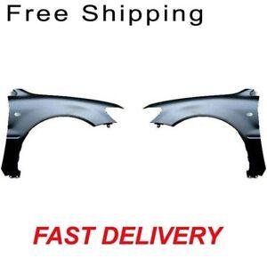Primed For Lancer 02-03 Passenger Side Fender Front Steel