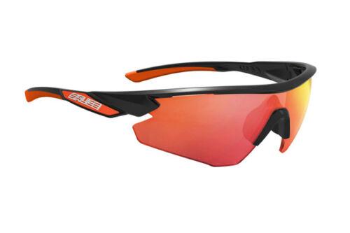 Radsport Brille SALICE 012RW noir Linse Rainbow rot/GLASSES Salice 012RW schwarz