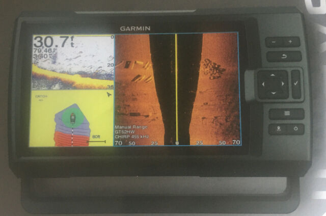 Garmin Striker Plus 9SV Fishfinder GPS with CV52HW-TM Transducer  Brand New