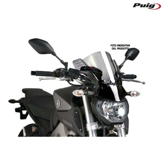 PUIG 6894H Fairing Rafale Smoke Clear Yamaha 850 MT09 2013-2016