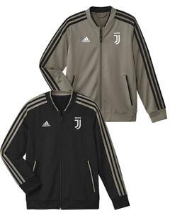 Détails sur Juventus Adidas Veste Entraînement Juve Pes Jkt 2018 19 Jr + Sr