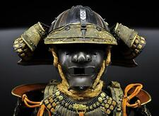Japanese Samurai Warrior Armour Helmet Face Mask Photograph 10x8 Inch