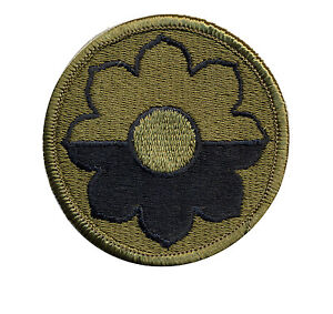 Details about 9th Infantry Division OD shoulder patch - WWII - Vietnam - Ft  Lewis - dated 1989