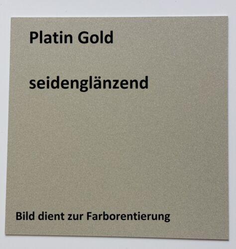 Gold 1kg Beschichtungspulver für Pulverbeschichtung Pulverlack Platin// Silber