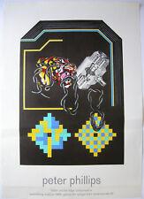 Peter Philipps Plakat Pneumatics Galerie der Spiegel Offset 1968