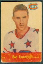 Bob Turner 1955-56 Parkhurst '55 NHL Card #54 VGEX