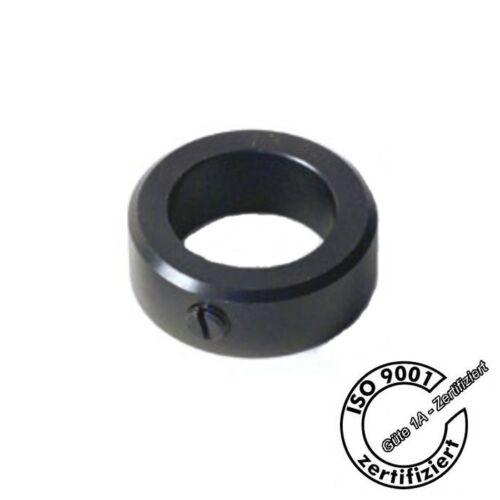Stellringe DIN 705 aus Stahl C45 brüniert D = 7mm