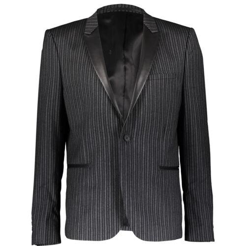 à It52 65 The rayures de Kooples cuir bordées Slim Xl Blazer YwpwCq