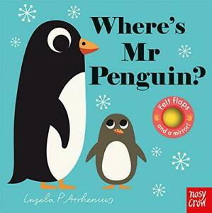 Where-039-s-Mr-Penguin-Felt-Flaps-by-Ingela-P-Arrhenius-NEW-Book-FREE-amp-Fast-De