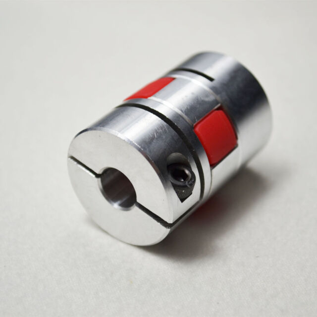 1Pcs flexible coupler  12.7x12.7mm for CNC Shaft Jaw Shaft D30L40
