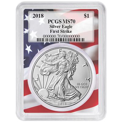 2020 $1 American Silver Eagle PCGS MS69 Biden 46th President Label Flag Frame