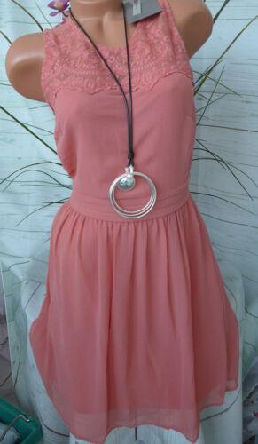 250 NEU Vero Moda Kleid Gr S bis L mit Spitze
