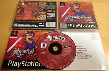ALUNDRA 2 for SONY PLAYSTATION 1 PS1, PS2 & PS3 COMPLETE & IN VGC