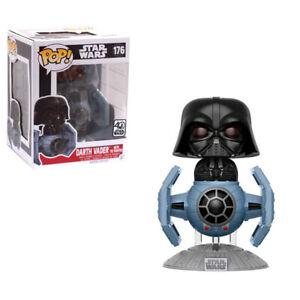 STAR-WARS-Darth-Vader-with-TIE-Fighter-POP-Vinyl-Bobble-Figure-176-Funko