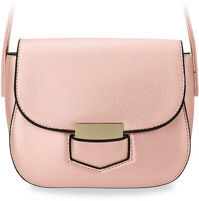 3327669335164 elegante Damentasche klein Schultertasche Messengertasche steife Ausführung  rosa ...