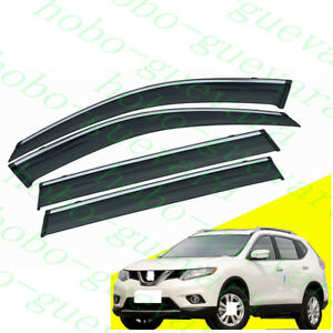 1set For Nissan X-Trail  2014-2018 Car Top Screw Roof Racks Rail Luggage Carrier